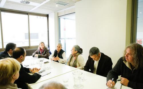 Reunión con el PSOE